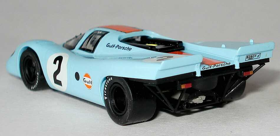 porsche 917 k daytona 1970 gulf porsche nr 2 kinnunen rodriguez siegerfahrzeug brekina. Black Bedroom Furniture Sets. Home Design Ideas