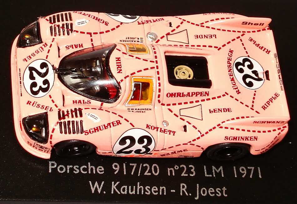 Porsche 917 20 24h Von Le Mans 1971 Pink Pig Die Sau Nr