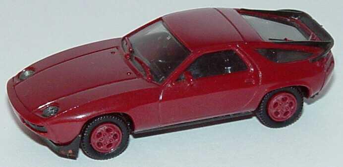 1:87 Porsche 928S weinrot, Telefonfelgen in Wagenfarbe (oV)