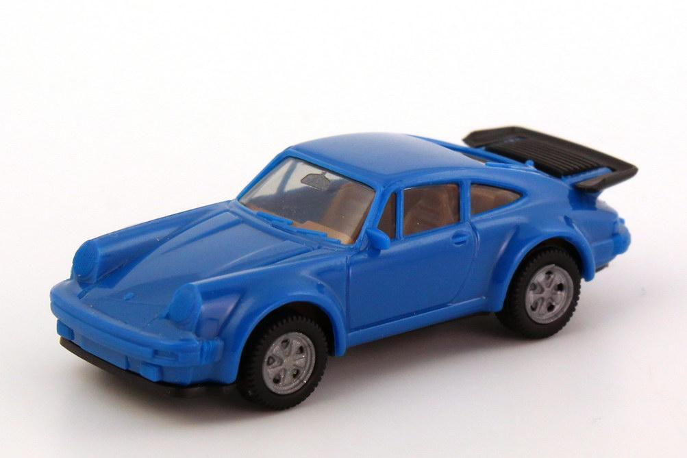 1:87 Porsche 930 turbo blau, IA beige, Fuchsfelgen (oV)
