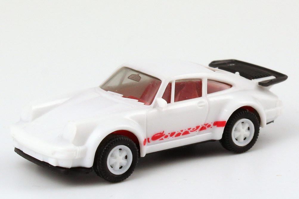 "1:87 Porsche 930 turbo ""Carrera"" weiß/rot (oV)"