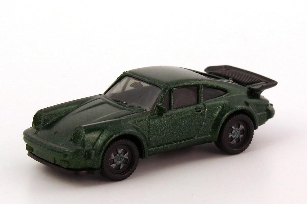 1:87 Porsche 930 turbo dunkelgrün-met., einteilige Räder (oV)