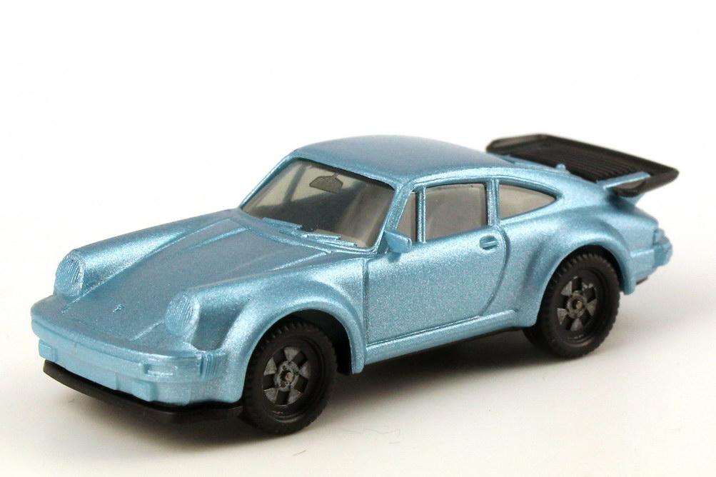 1:87 Porsche 930 turbo hellblau-met., Räder einteilig (oV)