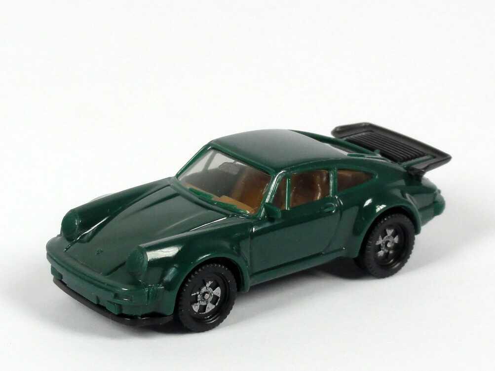 1:87 Porsche 930 turbo kieferngrün (alte Räder, IA beige) (oV)