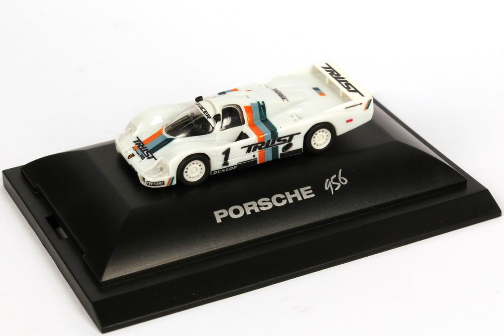 "1:87 Porsche 956 L All Japan Sports Prototype Championship 1983 ""Trust Racing"" Nr.1, Schuppan / Fujita (Meister)"
