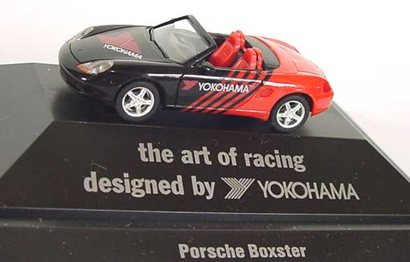 "1:87 Porsche Boxster ""Yokohama - the art of racing designed by Yokohama"""