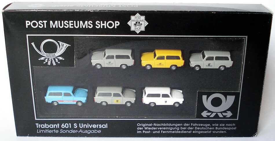 post museums shop setpackung trabi set 94 6x trabant. Black Bedroom Furniture Sets. Home Design Ideas