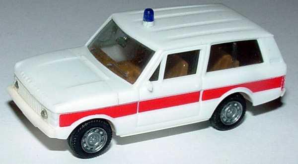 1:87 Range Rover Rettungswagen weiß/rot (oV)