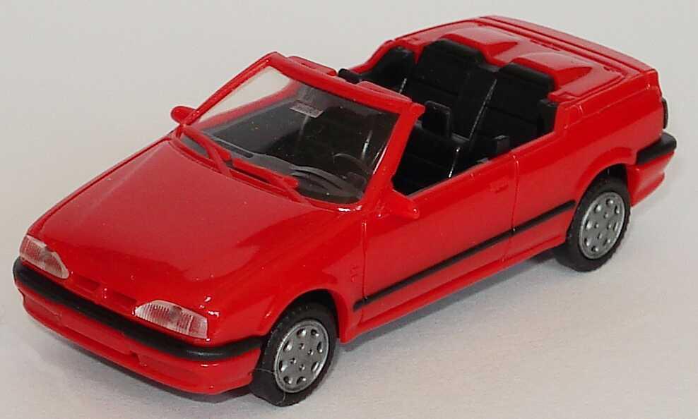 1 87 renault 19 cabrio rot amw awm 0270. Black Bedroom Furniture Sets. Home Design Ideas