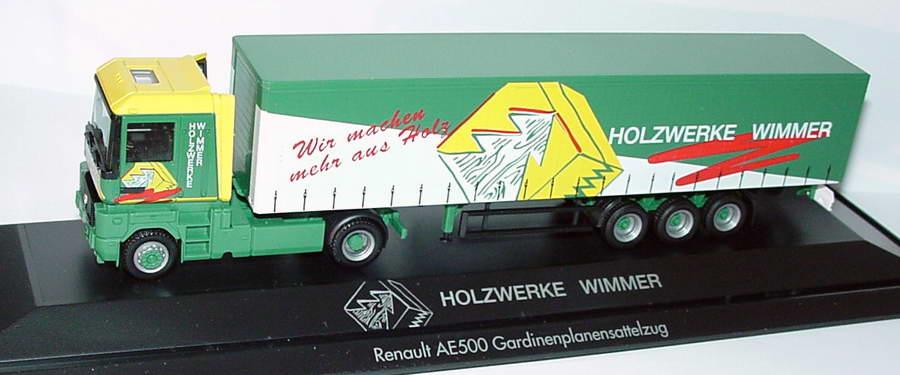 "1:87 Renault AE 500 GpSzg 2/3 ""Holzwerke Wimmer"""
