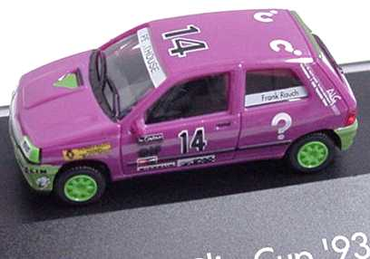 "1:87 Renault Clio 16V Clio Cup ´93 ""?"" Nr.14, Frank Rauch (oV)"