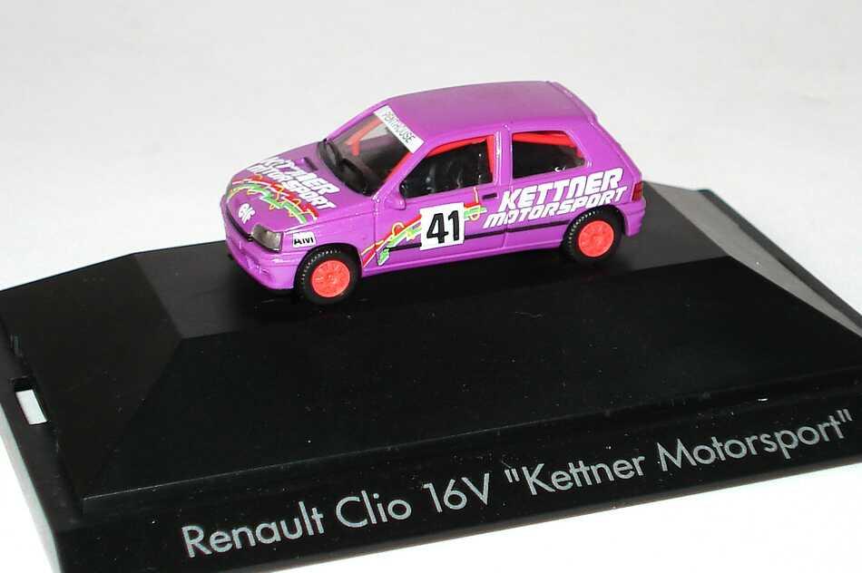 "1:87 Renault Clio 16V ""Kettner Motorsport"" Nr.41"