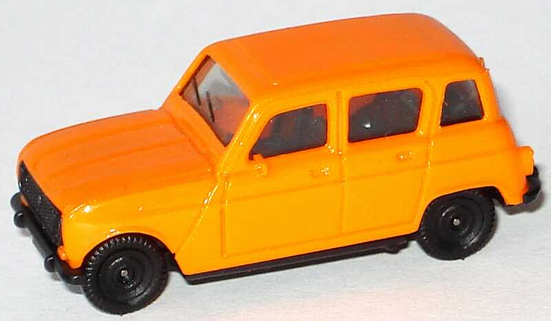 1 87 Renault R4 Alt Orange Herpa 2019