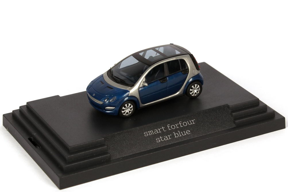 1:87 Smart Forfour star-blue-met. (Smart)