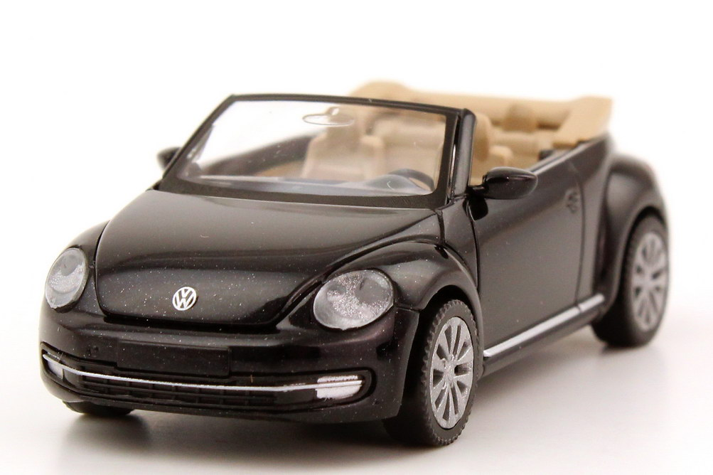 1 87 vw beetle cabrio cabriolet 2013 deep black schwarz volkswagen dealer oem ebay. Black Bedroom Furniture Sets. Home Design Ideas