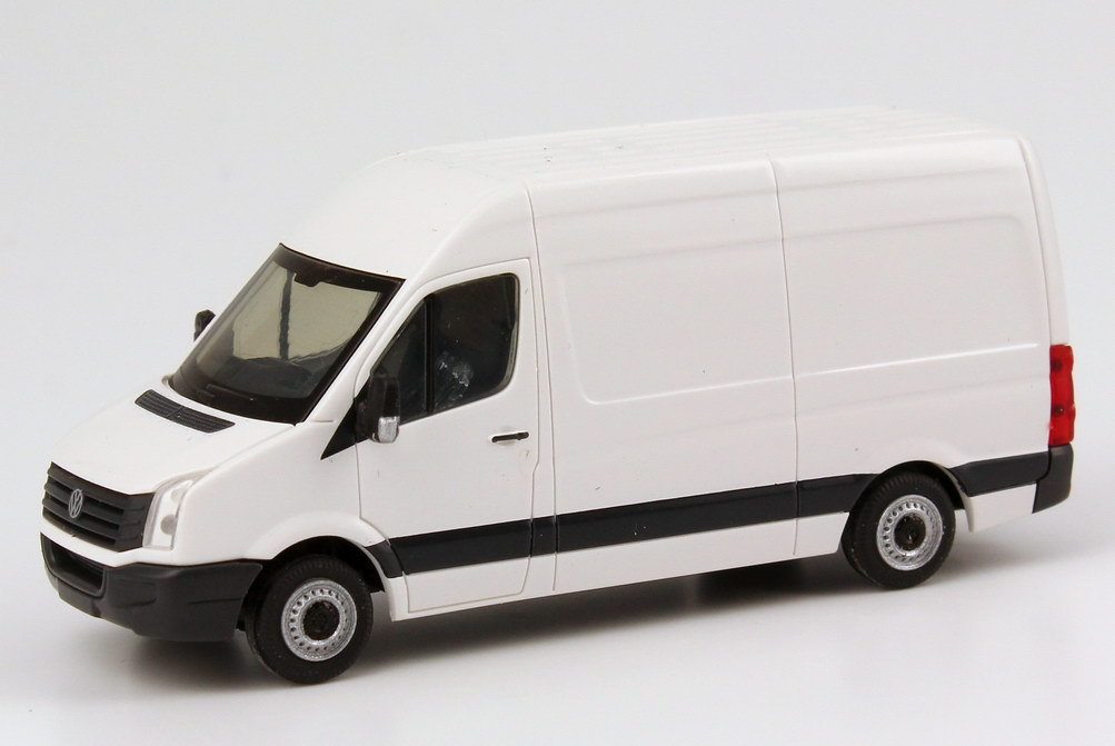 1 87 vw crafter 2011 box high roof candy white volkswagen. Black Bedroom Furniture Sets. Home Design Ideas