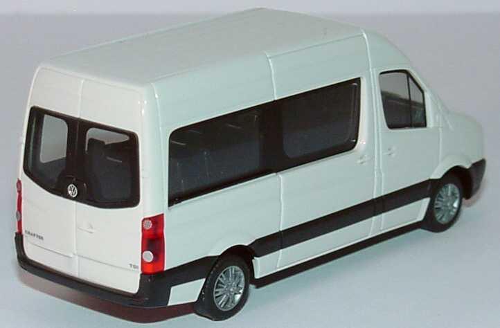 vw crafter bus hochdach grauwei werbemodell herpa. Black Bedroom Furniture Sets. Home Design Ideas