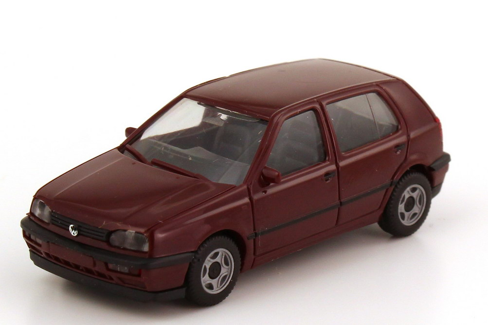 1 87 vw golf iii gl 4t rig weinrot herpa 021098. Black Bedroom Furniture Sets. Home Design Ideas