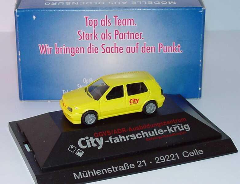1:87 VW Golf III VR6 4türig gelb