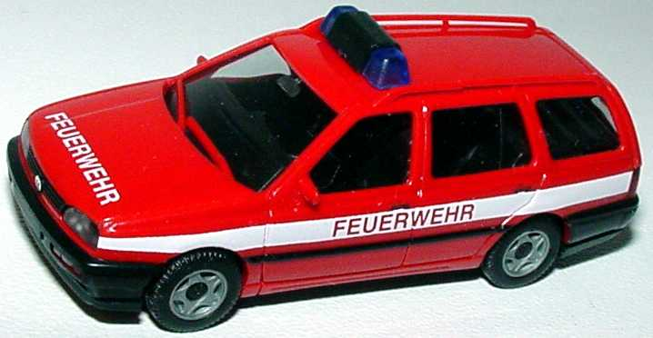 1:87 VW Golf III Variant Feuerwehr rot (oV)