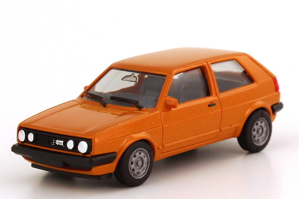 vw golf ii gti 2t rig orange met details bedruckt. Black Bedroom Furniture Sets. Home Design Ideas