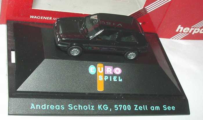 1:87 VW Golf II GTI facelift 2türig schwarz
