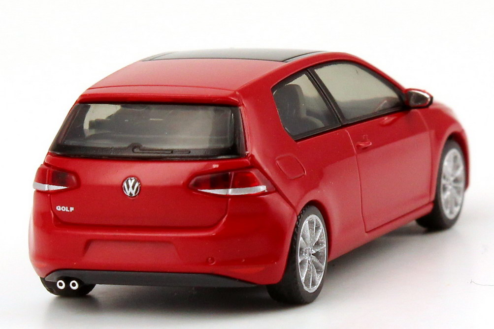 1 87 vw golf vii 7 2012 2 door tornado red 2 door. Black Bedroom Furniture Sets. Home Design Ideas