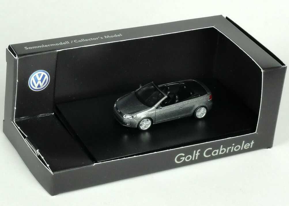 1:87 VW Golf VI Cabrio unitedgrey-met. (VW)