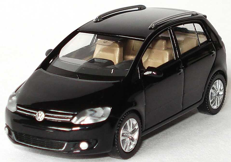 1 87 vw golf v plus facelift 2009 deepblack black volkswagen dealer edition ebay. Black Bedroom Furniture Sets. Home Design Ideas
