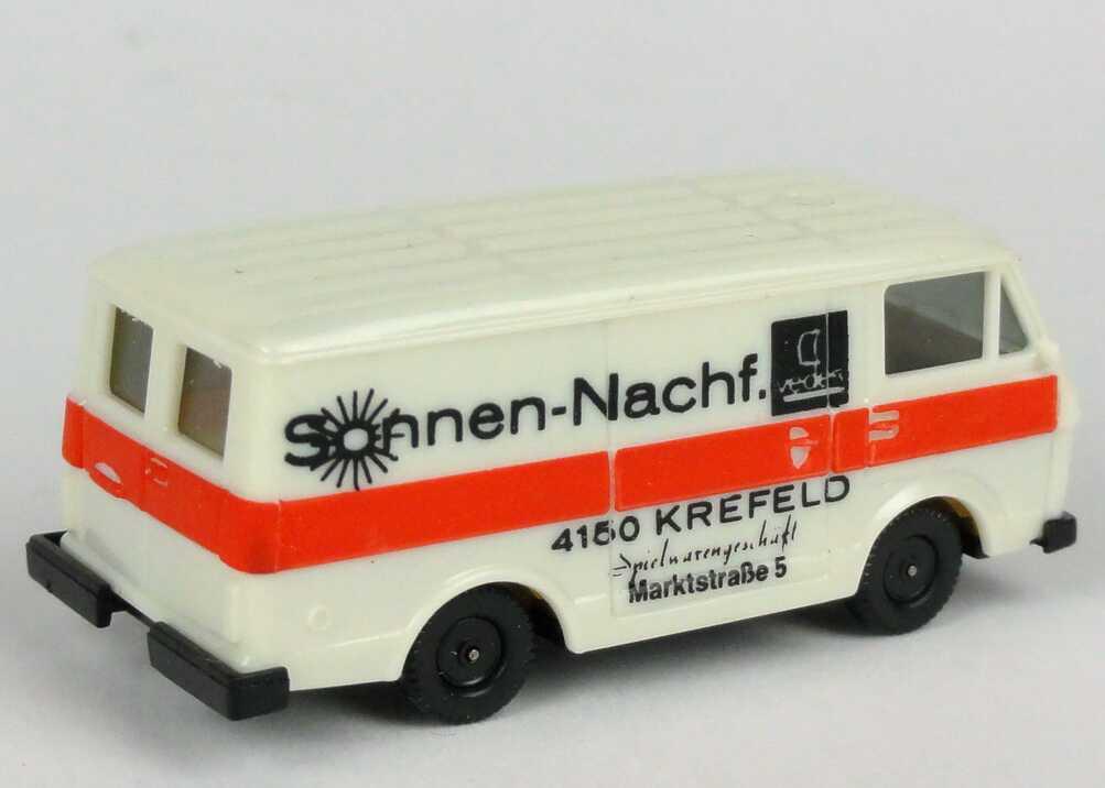 1 87 vw volkswagen lt 28 box sun nachf krefeld herpa ebay. Black Bedroom Furniture Sets. Home Design Ideas