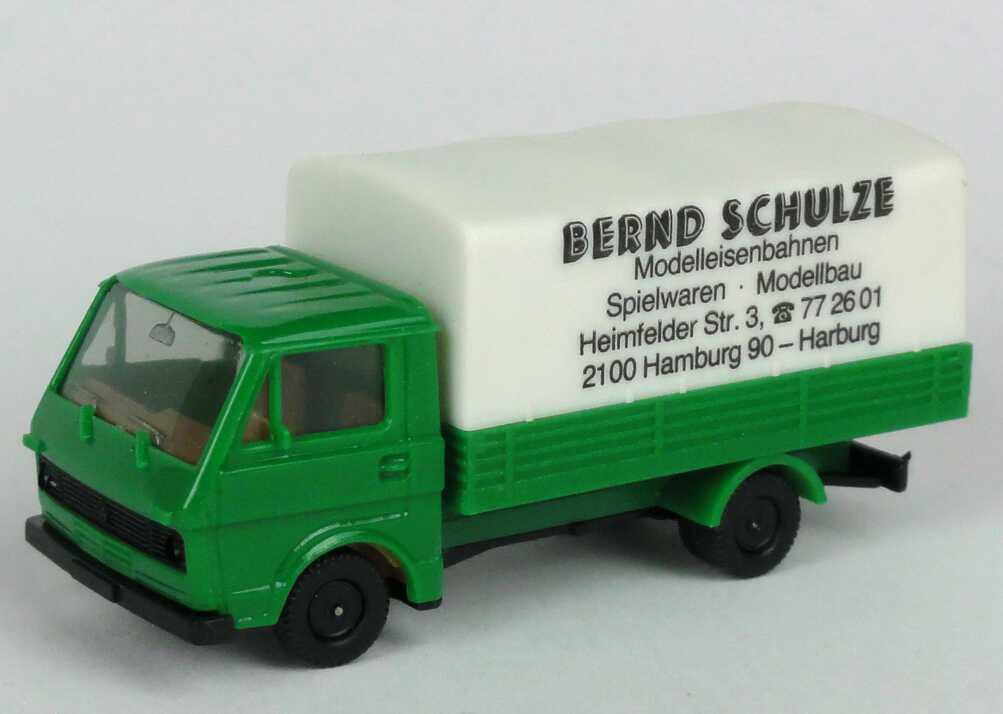 Foto 1:87 VW LT 28 Pritsche Plane Bernd Schulze Hamburg-Harburg - herpa