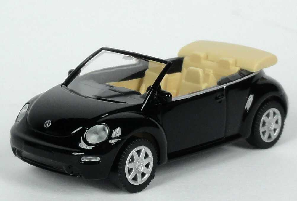 vw new beetle cabrio schwarz werbemodell wiking 1y0099301041 bild 2. Black Bedroom Furniture Sets. Home Design Ideas