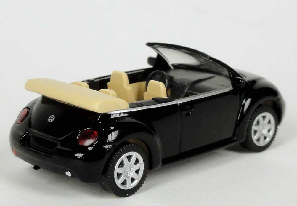vw new beetle cabrio schwarz werbemodell wiking 1y0099301041 bild 3. Black Bedroom Furniture Sets. Home Design Ideas