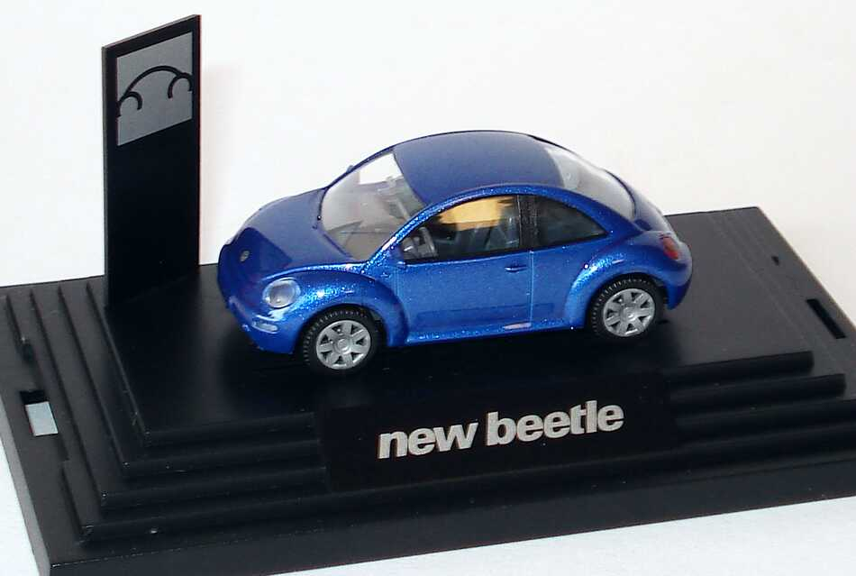 1:87 VW New Beetle blaumet. (VW)