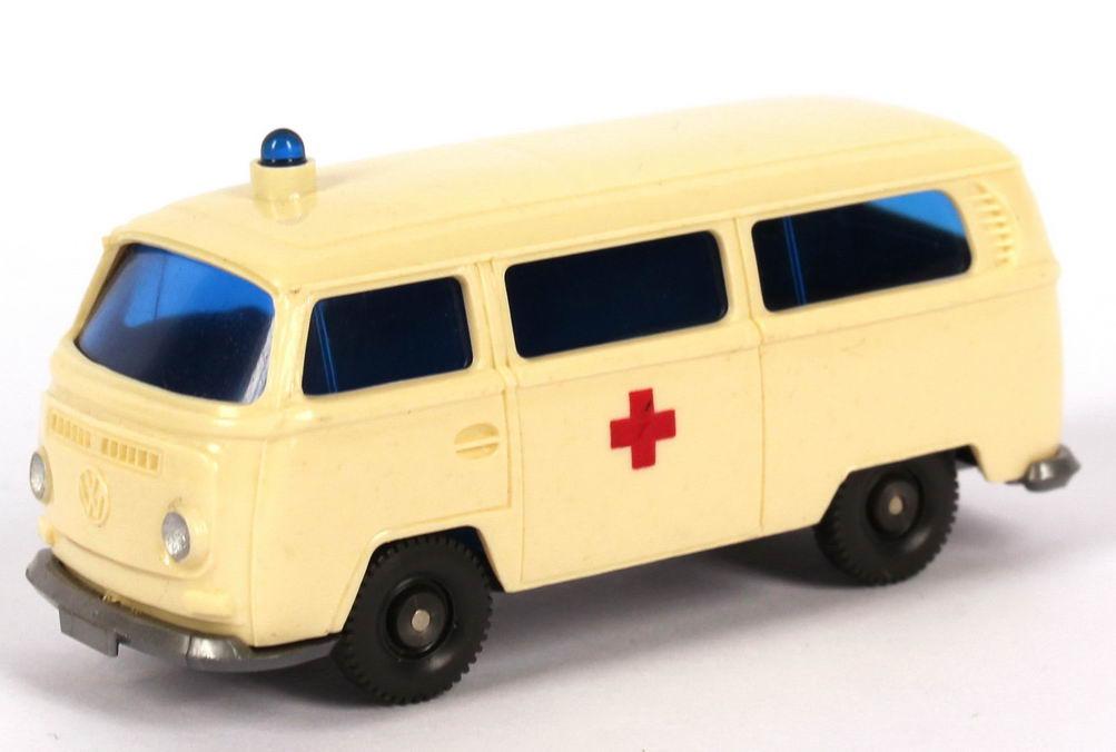 1:87 VW T2 Bus Krankenwagen Rotes Kreuz (dickes Kreuz) (oV)