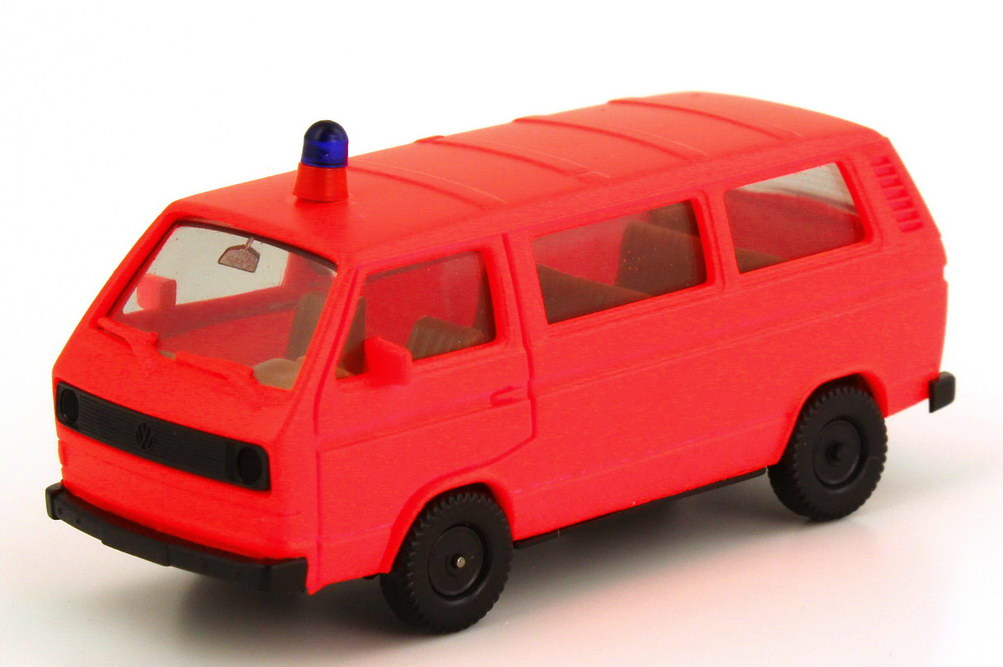 1:87 VW T3 Bus Feuerwehr tagesleuchtrot (oV)