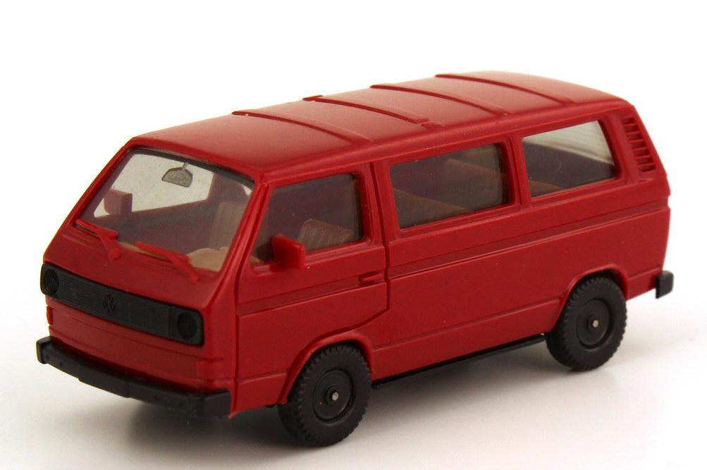 1:87 VW T3 Bus dunkelrot (oV)