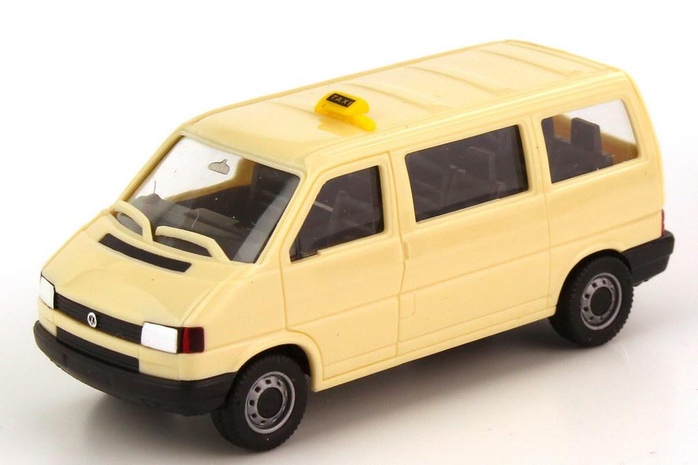 1 87 vw t4 bus caravelle taxi herpa 042437. Black Bedroom Furniture Sets. Home Design Ideas