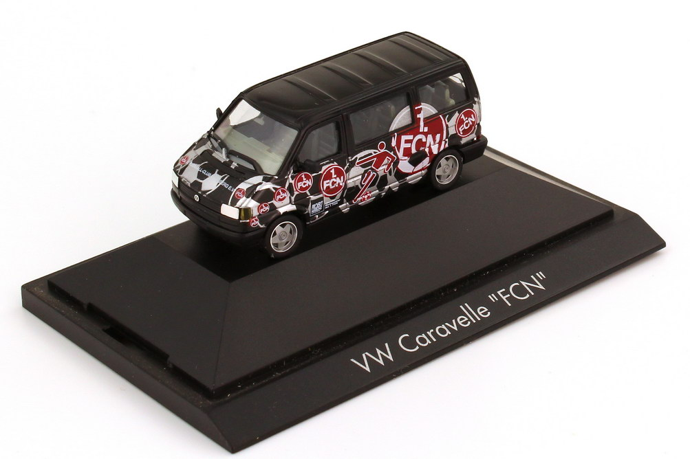 1 87 vw t4 bus caravelle mit borbet felgen fanmobil 1 fc. Black Bedroom Furniture Sets. Home Design Ideas