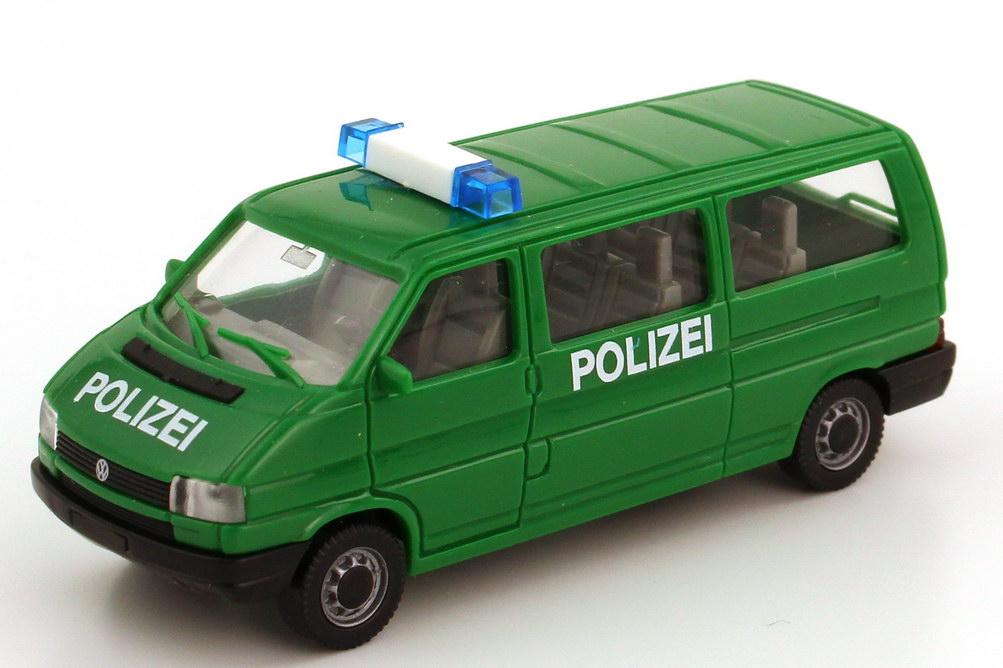 1 87 vw volkswagen t4 bus lang polizei gr n amw awm 3011 1 ebay. Black Bedroom Furniture Sets. Home Design Ideas