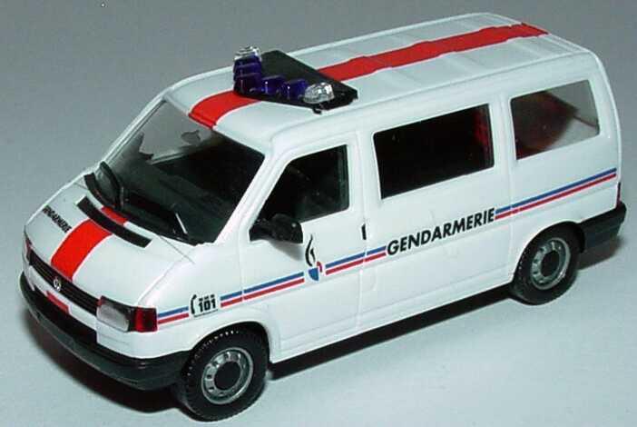 vw t4 caravelle gendarmerie herpa in der. Black Bedroom Furniture Sets. Home Design Ideas