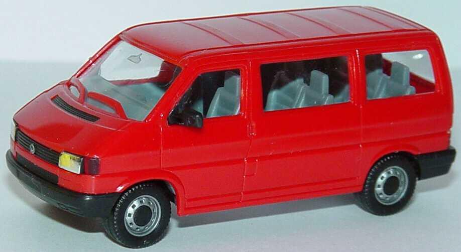 vw t4 caravelle rot herpa in der modellauto galerie. Black Bedroom Furniture Sets. Home Design Ideas
