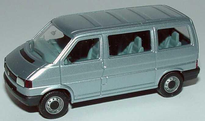 1 87 vw t4 caravelle silber met herpa 041577. Black Bedroom Furniture Sets. Home Design Ideas