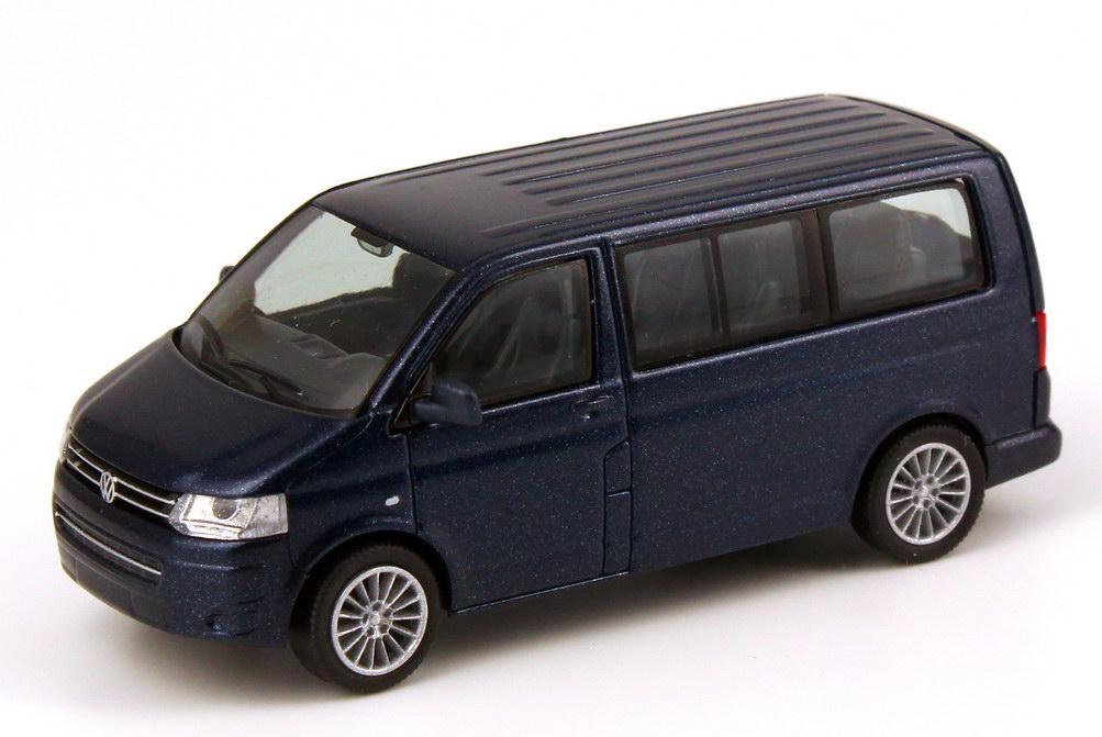 1 87 vw t5 multivan gp facelift night blue blue volkswagen. Black Bedroom Furniture Sets. Home Design Ideas
