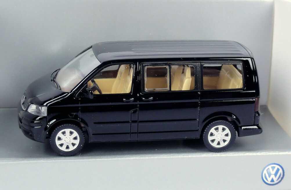 1 87 Vw T5 Multivan Schwarz Werbemodell Wiking 7h0099301041