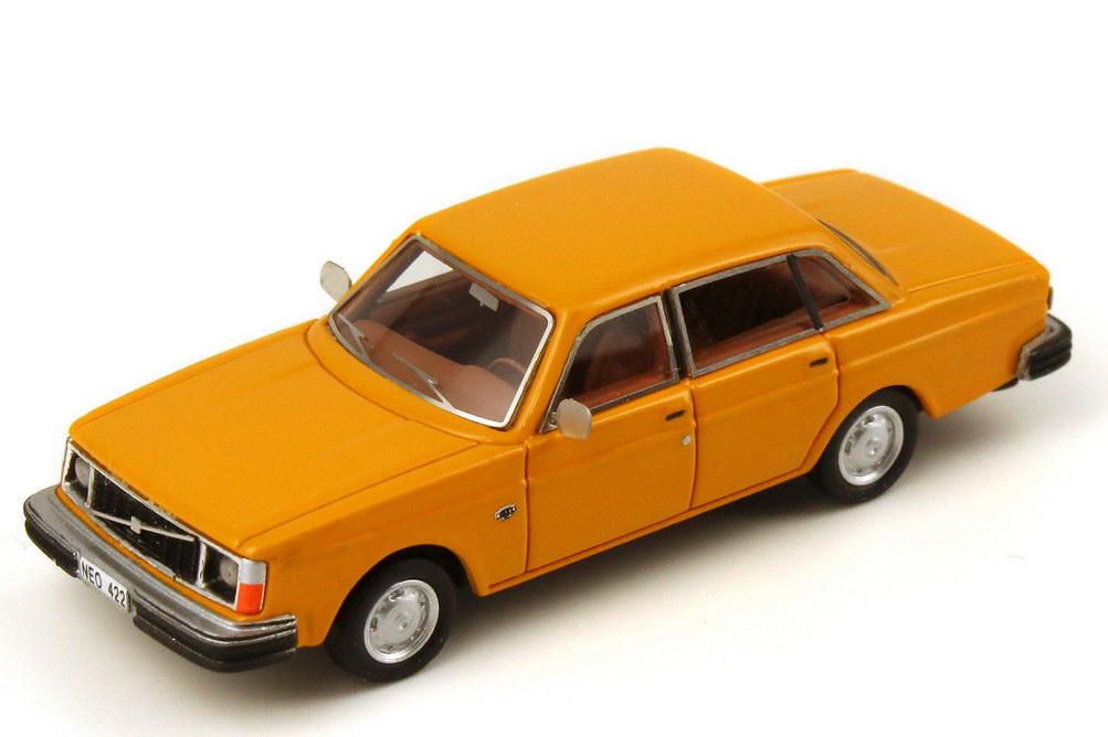 volvo 244 dl orange neo scale models 87422 bild 2. Black Bedroom Furniture Sets. Home Design Ideas
