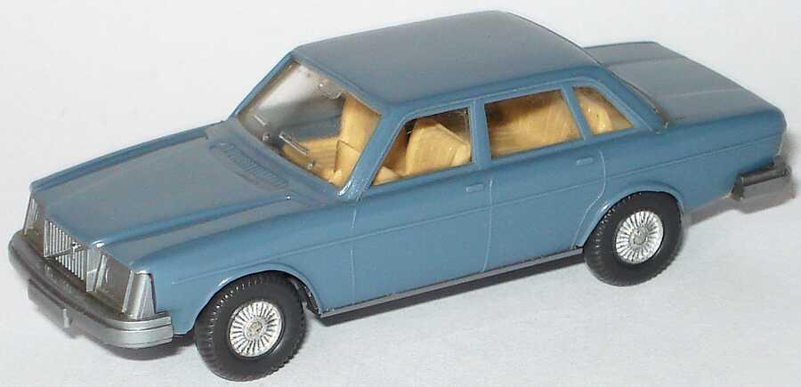 Foto 1:87 Volvo 264 blaugrau IA hellbeige - Wiking 264