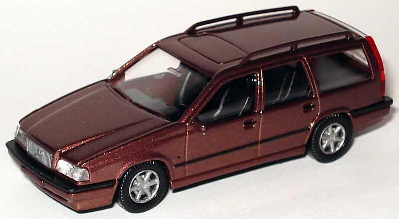 Foto 1:87 Volvo 850 Kombi braun-met. Wiking 26404