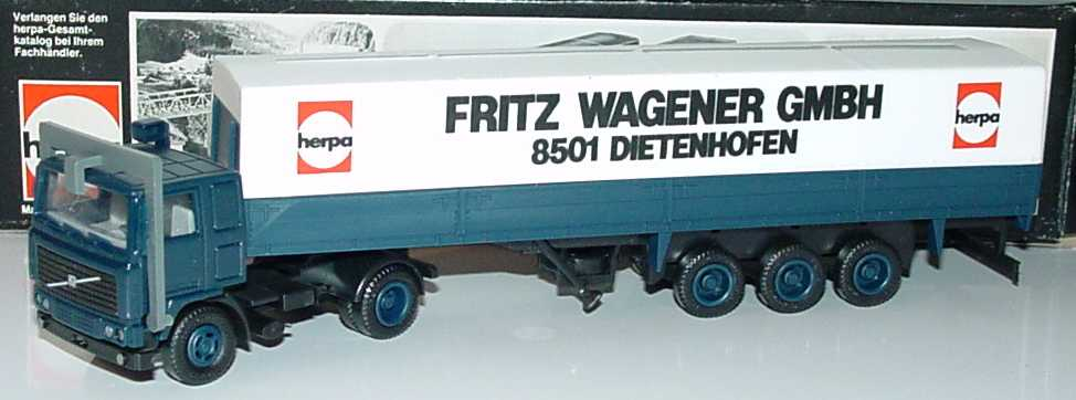 1 87 Volvo F12 Ppszg 2 3 Herpa Fritz Wagener Gmbh 8501
