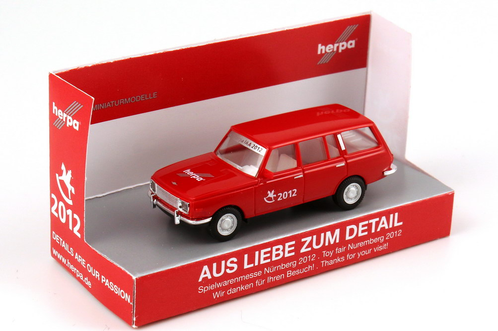 """1:87 Wartburg 353 Tourist (Kombi) """"29. Herpa IAA 2012 - Aus Liebe zum Detail"""""""